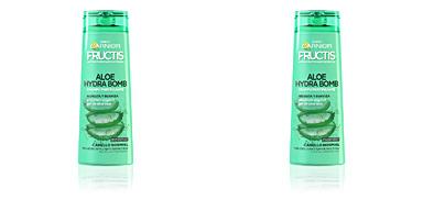 Shampoo cabelo quebrado FRUCTIS ALOE HYDRA BOMB champú fortificante Garnier