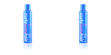Producto de peinado CURLY SEXYHAIR curl power spray foam Sexy Hair