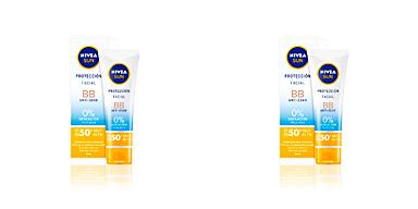 Faciais SUN FACIAL BB anti-edad SPF50+ Nivea
