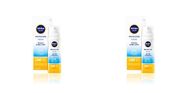 Faciales SUN FACIAL mousse hidratante SPF50+ Nivea