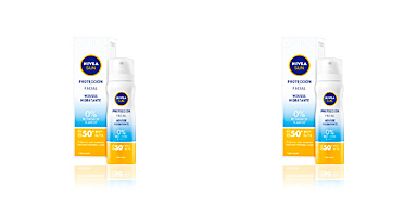 Gesichtsschutz SUN FACIAL mousse hidratante SPF50+ Nivea