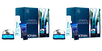 Coffret de Cosméticos BLUE THERAPY EYE CREAM LOTE Biotherm