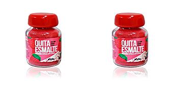 QUITAESMALTE ESPONJA ACETONA aroma fresa Katai Nails