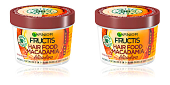 Hair straightening cream FRUCTIS HAIR FOOD macadamia mascarilla alisadora Garnier
