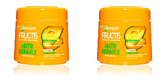 Hair mask for damaged hair FRUCTIS NUTRI REPAIR-3 mascarilla Garnier