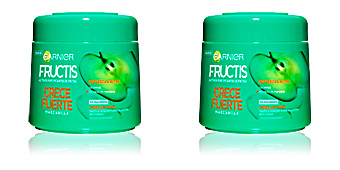 Hair mask for damaged hair FRUCTIS CRECE FUERTE mascarilla Garnier