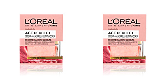 Skin lightening cream & brightener AGE PERFECT mascarilla iluminadora L'Oréal París