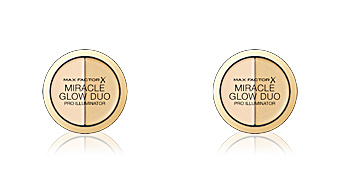 Highlighter makeup MIRACLE GLOW DUO pro illuminator Max Factor