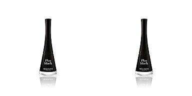 1 SECONDE nail polish #006-play black Bourjois