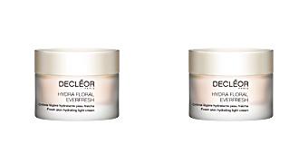 Face moisturizer HYDRA FLORAL EVERFRESH crème légère hydratante Decléor
