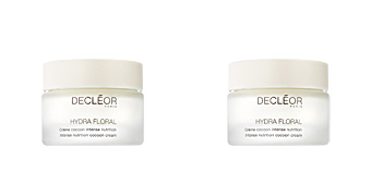 Face moisturizer HYDRA FLORAL crème cocoon intense nutrition Decléor