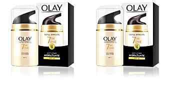 TOTAL EFFECTS anti-edad hidratante SPF15 Olay