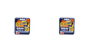 FUSION PROSHIELD cargador 4 recambios Gillette