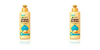 Tratamiento hidratante pelo ORIGINAL REMEDIES crema sin aclarado elixir argan Garnier