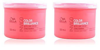 Masque pour les cheveux INVIGO COLOR BRILLIANCE mask fine hair Wella
