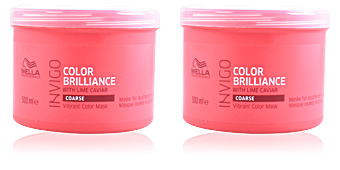 Masque pour les cheveux INVIGO COLOR BRILLIANCE mask coarse hair Wella