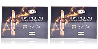 Antioxidant treatment cream ISDINCEUTICS Flavo-C Melatonin ampollas Isdin