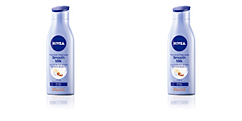Body moisturiser TRIPLE ACCIÓN smooth body milk Nivea