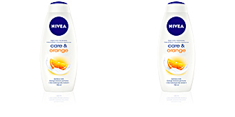 Gel de baño CARE & ORANGE gel de ducha Nivea