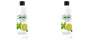 Shower gel HERBAL LEMON moisturizing shower gel Naturalium