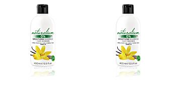 Moisturizing shampoo VAINILLA smoothing shampoo Naturalium