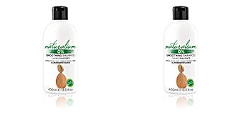 Champú hidratante ALMOND & PISTACHIO smoothing shampoo Naturalium