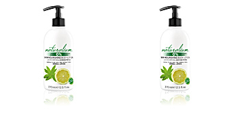 Body moisturiser HERBAL LEMON skin nourishing body lotion Naturalium