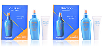 Coffret Soin Solaire GLOBAL SUN PROTECTION SPF15 SPRAY COFFRET Shiseido