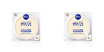 Foundation Make-up HYALURON CELLULAR FILLER 3in1 care cushion Nivea