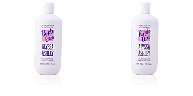 PURPLE ELIXIR bubbling bath & shower gel Alyssa Ashley
