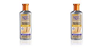 Shampoo proteçao de cor CHAMPU MATIZANTE silver blonde Naturaleza Y Vida
