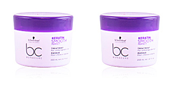 Mascarilla reparadora BC KERATIN SMOOTH PERFECT treatment Schwarzkopf