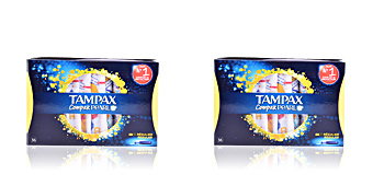 Tampones TAMPAX PEARL COMPAK tampón regular Tampax