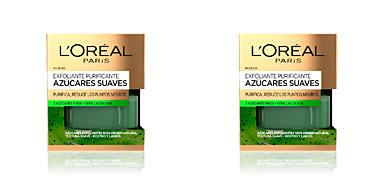Face scrub - exfoliator AZUCARES SUAVES exfoliante purificante L'Oréal París