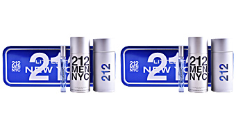 Carolina Herrera 212 NYC MEN SET perfume
