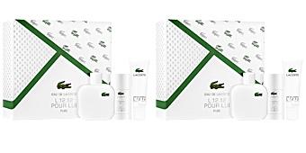 Lacoste EAU DE LACOSTE L.12.12 BLANC POUR HOMME COFFRET parfum