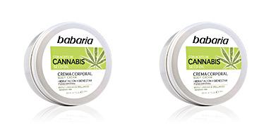 Hidratante corporal CANNABIS crema corporal hidratante y bienestar Babaria