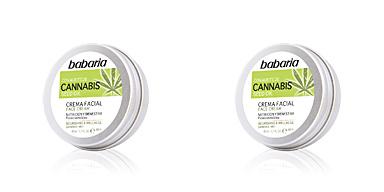 Trattamento viso idratante CANNABIS crema facial nutrición y bienestar Babaria