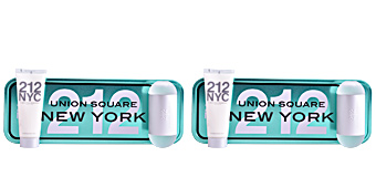 Carolina Herrera 212 NYC FOR HER SET SET perfume