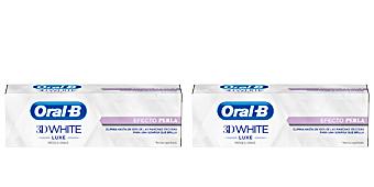 3D WHITE LUXE pasta dentífrica efecto perla Oral-b