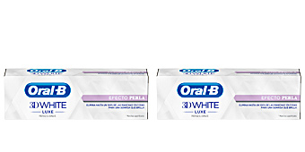 Pasta de dientes 3D WHITE LUXE pasta dentífrica efecto perla Oral-b
