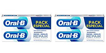 ENCIAS & ESMALTE REPAIR BLANQUEANTE DENTIFRICO LOTE Oral-b