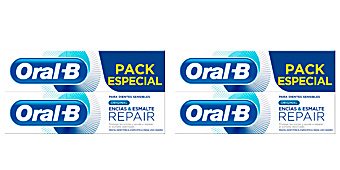 Dentifrici ENCIAS & ESMALTE REPAIR ORIGINAL DENTIFRICO LOTTO Oral-b