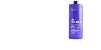 Shampoo volumizador BE FABULOUS C.R.E.A.M. lightweight shampoo Revlon