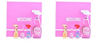 FRESH COUTURE PINK SET Moschino