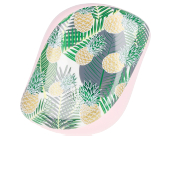 Hair brush COMPACT STYLER palms & pineapples Tangle Teezer