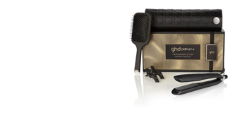 Hair straightener PLATINUM+ healthier styler set Ghd