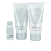 Facial cleanser SENSAI SILKY PURIFYING DOUBLE CLEANSING SET Kanebo