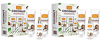 Duschgel COCONUT MOMENTS  SET Natural Honey