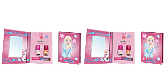 Makeup set FROZEN AGENDA MAQUILLAJE SET Frozen
